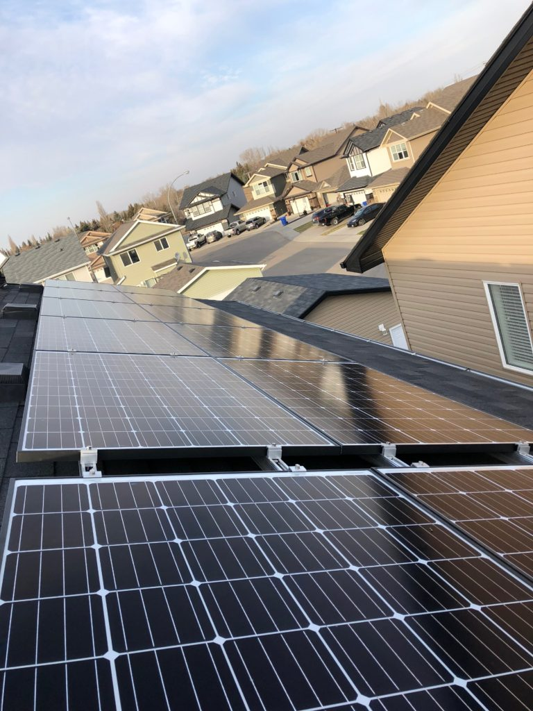 solar panels in Saskatchewan
